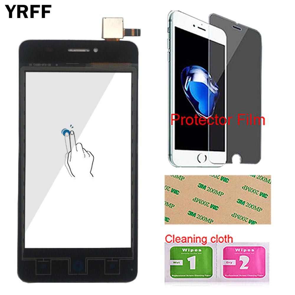 """YRFF 4.0 """"AF3 شاشة لمس زجاج أمامي ل ZTE Blade AF3 T221 A5 Pro محول الأرقام بشاشة تعمل بلمس لوح مستشعر أدوات غشاء واقي"""