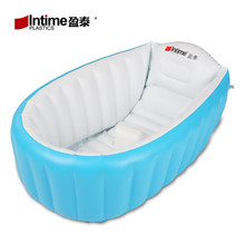 Portable Bathtub 98X65X28cm Inflatable Bath Tub Child Tub Cushion + Foot  Air Pump Warm Winner Keep