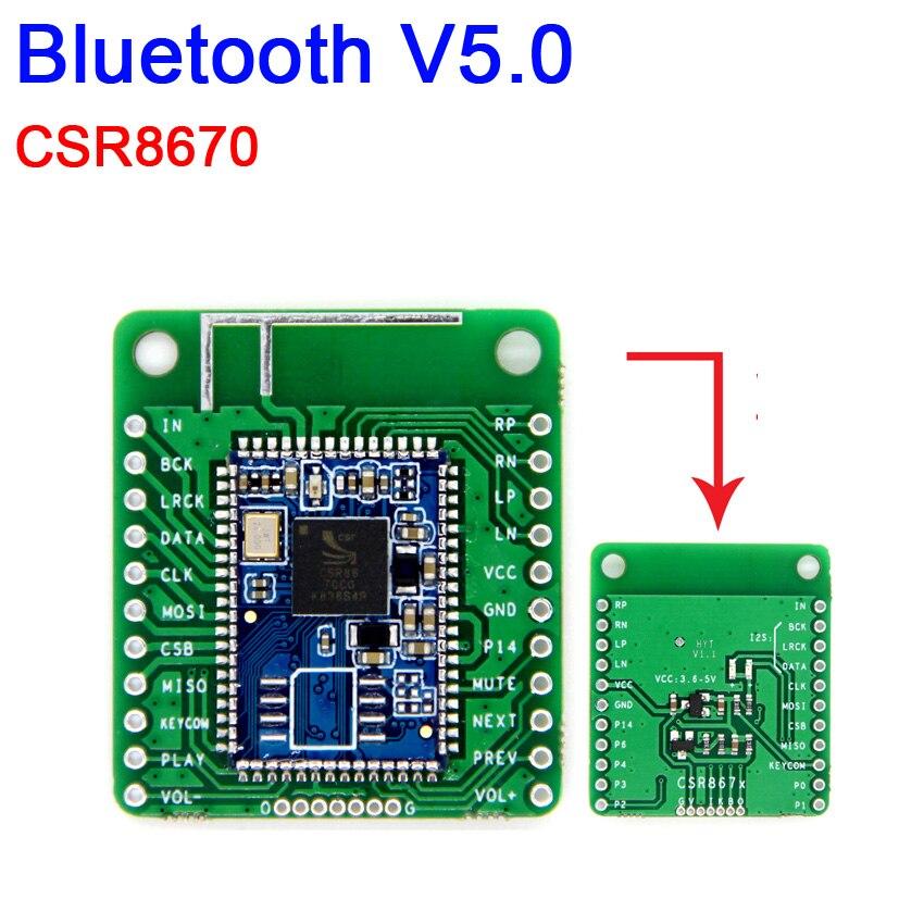 DYKB CSR8670 Bluetooth 5.0 Low Power Bluetooth Stereo Audio Module APTX Lossless Compression I2S Fiber SPDIF For Power Amplifier