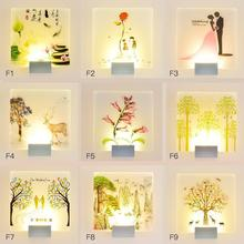 Living Room Bedside Led Wall Lamp Corridor Decorative Led Sconce Indoor Modern Wall Light House Lighting Fixtures