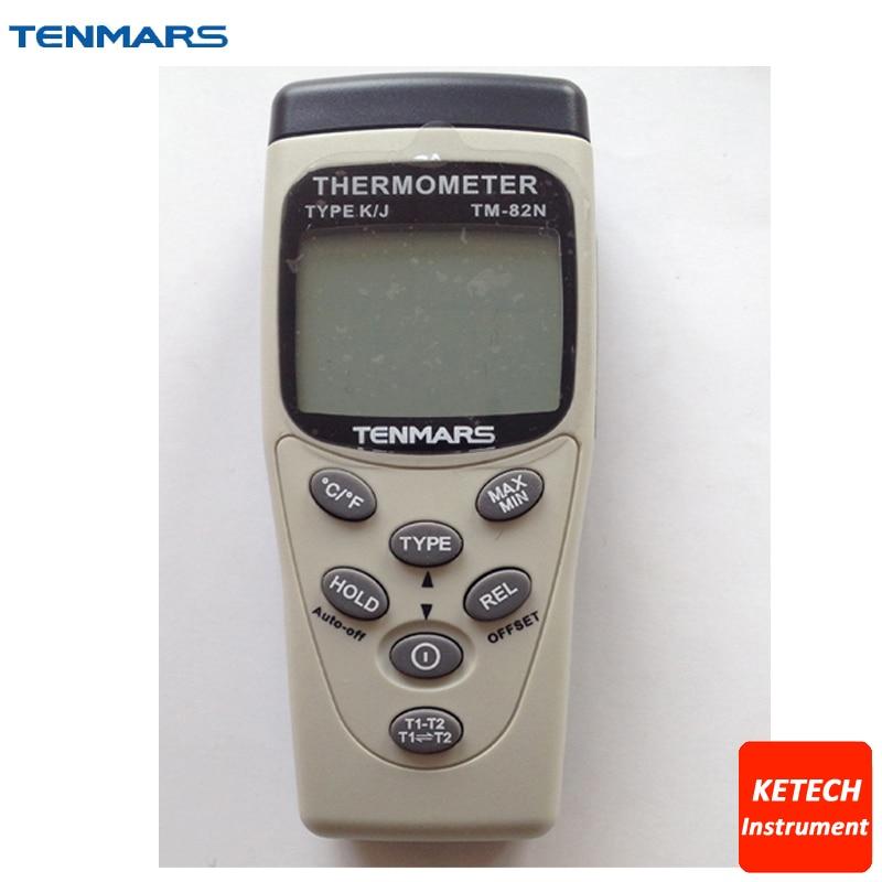 TM82N Thermometer Temperature Meter 5 Digits/-200~+1370C/-200~+1050C
