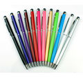 100pcs/lot DHL free shipping Capacitive Touch Screen Stylus pen with Ball Point Pen for iphone 4/5/5s/6 for ipad for samsung
