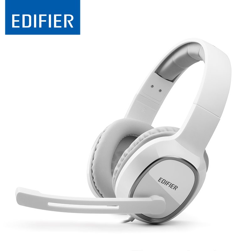 Edifier K815 HIFI Headphones Noise reduction Game Headset Clear sound Headphone with Microphone for Smartphone Desktops Laptops philips shg7210 professional game headphones with microphone wire control headphone for xiaomi mp3 official verification