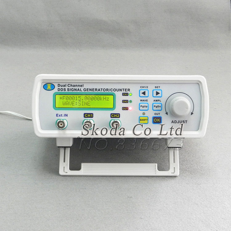 Free shipping MHS -3200A 12MHz DDS NC dual channel function signal generator,DDS signal source 4 kinds of waveform output daphne a source of pharmaceuticals