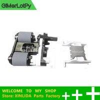 1 Set original new B3Q10 60105 +B3Q10 40080 ADF Pickup Roller Assembly +separation pad for LaserJet Pro M377dw M477 M426 M427