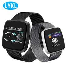 LYKL умные спортивные часы G12 IP67 Водонепроницаемый пульса крови Давление монитор Sport Band сообщение Bluetooth Smart Браслет