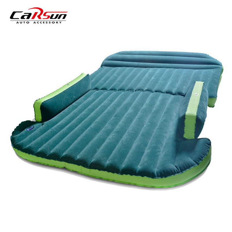 CARSUN 190*130*16CM Car Travel Bed Inflatable Car Mattress For Camping Air Mattress Bed Inflatable Outdoor Camping Car Bed