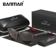 BANMAR Fashion Polarized Sunglasses Men TR90 Luxury Brand Designer Vintage Driving Night Sun Glasses Male Goggles Shadow UV400 цена