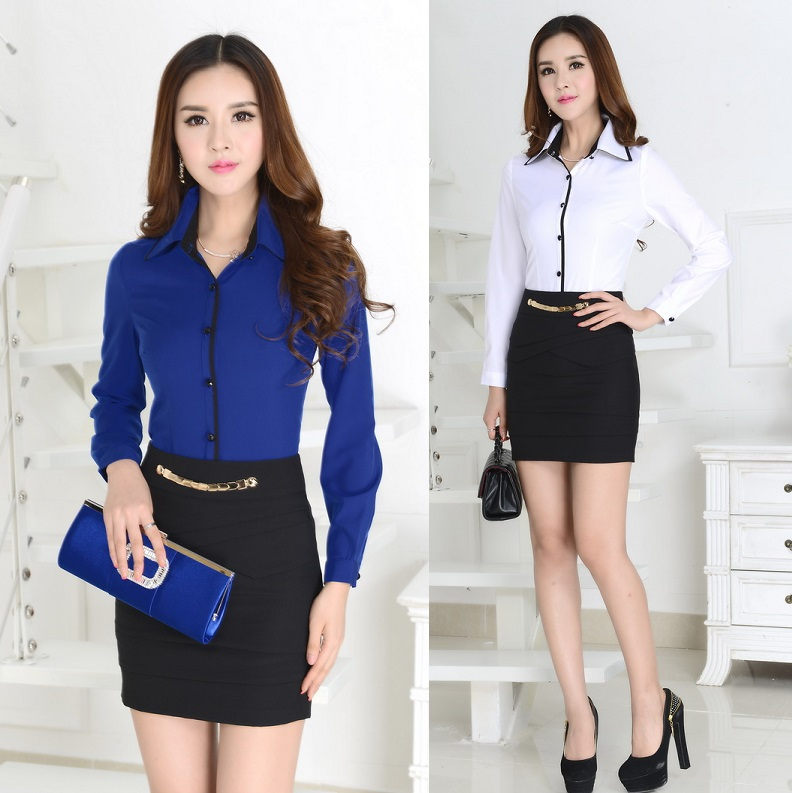 Female office uniform promotion shop for promotional for Office uniform design 2016