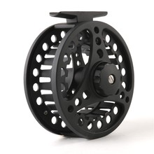 2+1BB Ball Bearing Fly Reel Aluminum Alloy Spool 85MM Weights 5/6 7/8 WT Die Casting Fly Fishing Wheel Left/Right Handed Black maxway cnc aluminium fly fishing reel size 5 6 wheel fishing reels right left hand changeable 2 1bb for fly fishing