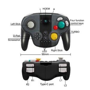 Image 5 - Wireless Pro Game ControllerสำหรับNintendo Switch ControllerสนับสนุนNFC GamepadสำหรับNintend Switch Win 7/ 8/10 คอนโซลจอยสติ๊ก