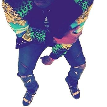 High Quantity PU Faux Leather Men Skinny Justin Bieber Clothes Slim Fit Hip Hop Hiphop Pants Zipper Swag Biker Jogger Kanye West 8