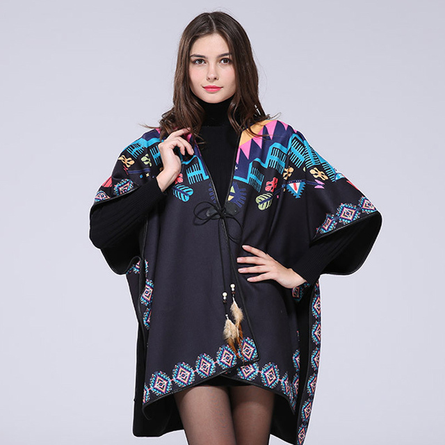 2016 New Brand Design Winter Scarf For Women Cashmere Warm Lady Poncho  Long Shawl Top Quality Blankets M182