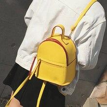 Neue Mode Frauen adrette Rucksack Süße Dame Mini Rucksack Teenager Mädchen schule Rucksack reise baobao feminina rucksack