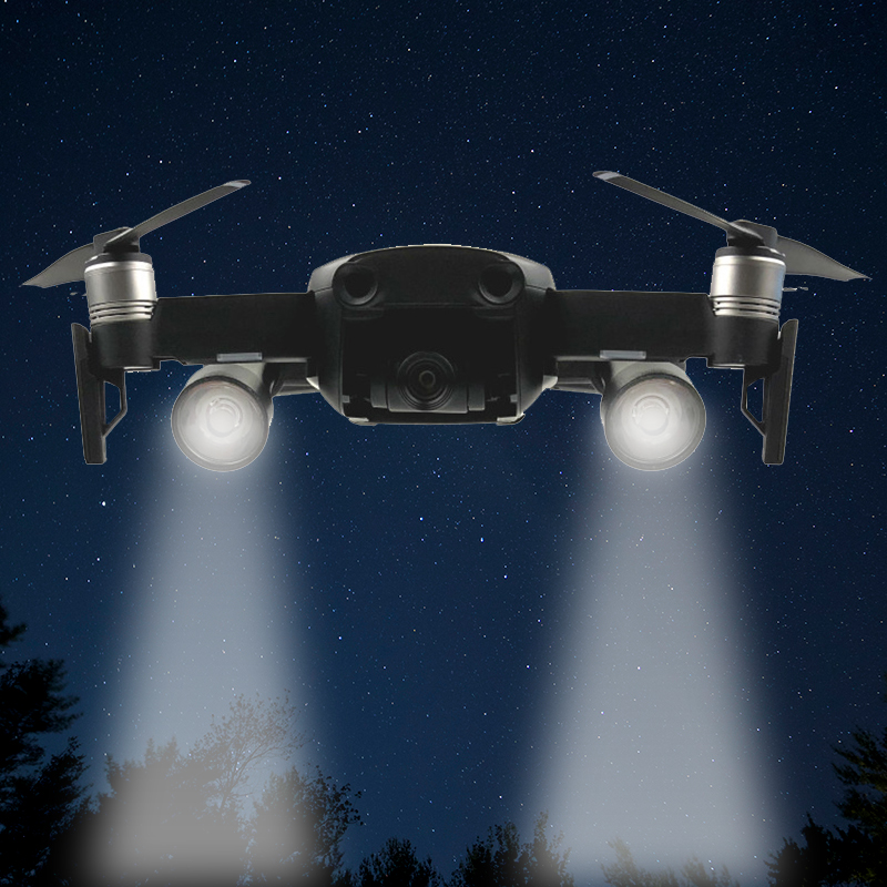 New Arrival Flash LED Fill Light Searchlight Lamp Kit For DJI Mavic Air Night Flight Lighting Drone Accessories