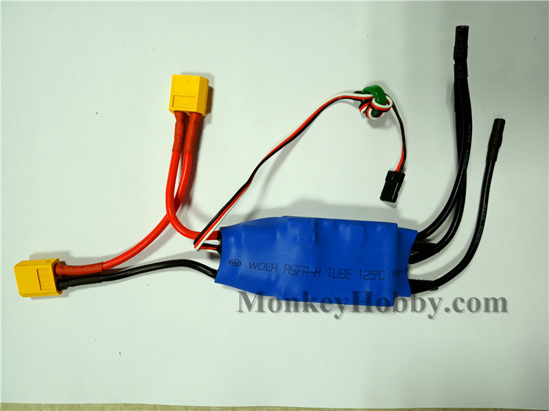 Volantex Vector SR48 V797-3 RC Boat Parts Waterproof And Water Cool Brushless ES