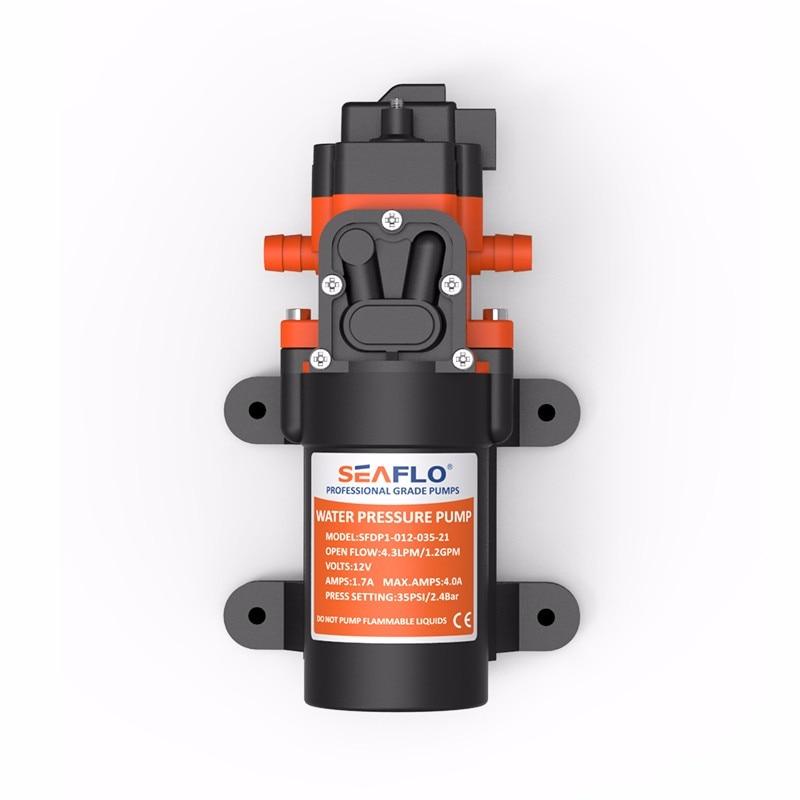12/V 100psi 4L//Min bomba de agua de diafragma de alta presi/ón para RV//Caravan//barco