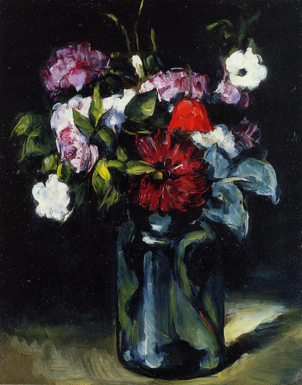 Handmade Oil Painting Reproduction on linen canvas,flowers-in-a-vase-1873 BY paul Cezanne ,Free Shipping ,TOP qualityHandmade Oil Painting Reproduction on linen canvas,flowers-in-a-vase-1873 BY paul Cezanne ,Free Shipping ,TOP quality