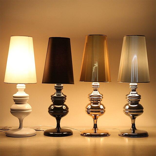 Modern Table Lamps E27 AC 110V/220V Spanish Defender Desk Lights For Bedroom Living Room Bedside Lighting Home Decoration WTL028
