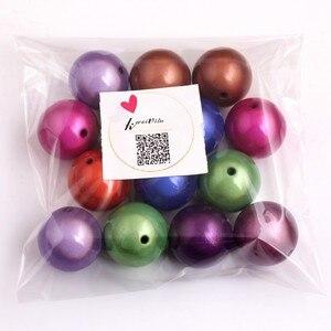 Image 5 - Kwoi Vita Groothandel Acryl Miracle Kralen voor Chunky Kralen Ketting Sieraden 4mm naar 30mm voorraad