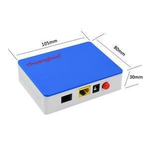 Image 2 - Chuanglixin 1GE GEPON 1 port XPON ONU EPON/GPON ONU 1.25G gepon onu ftth fiber maison pour GEPON OLT