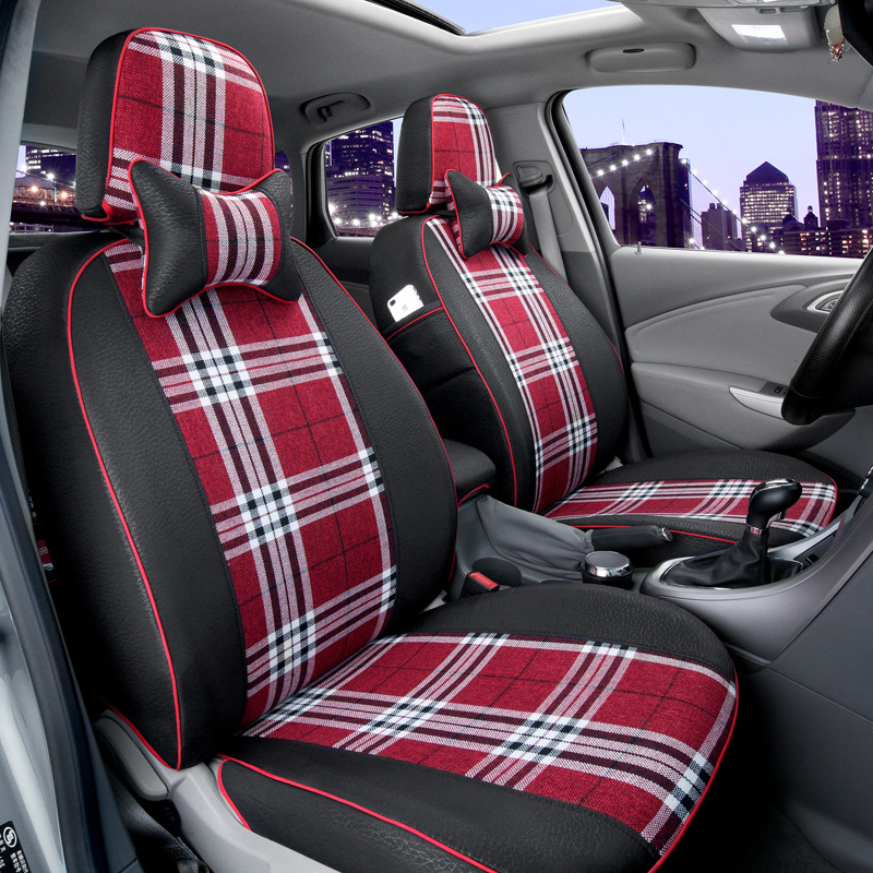 free shipping car seat covers customize linen pad mat for FIAT Palio Weekend Siena Perla CITROEN Elysee Picasso quatre triomphe