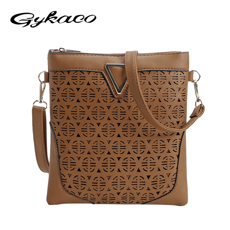 Luxury Handbags Women Bags Designer Hollow Out Women Messenger Bags Shoulder Crossbody Bag Women Leather Handbags Bolsa Feminina 2017 women messenger bag hollow out bolsa feminina bolso mujer leather shoulder bag saddle crossbody bags for women s 132