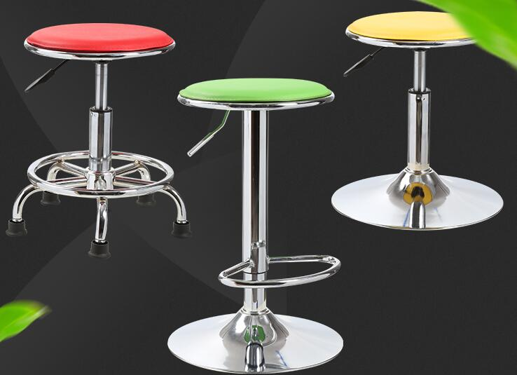 Bar stools. Lift stools. High stools. Round chairs home.008 цены