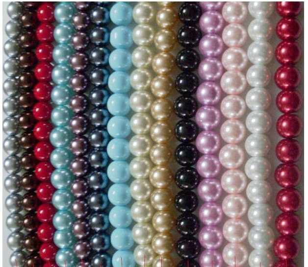 OMH wholesale free ship 14mm 10pcs White Black red Purple, blue round glass spacer pearl beads Many colors to pick