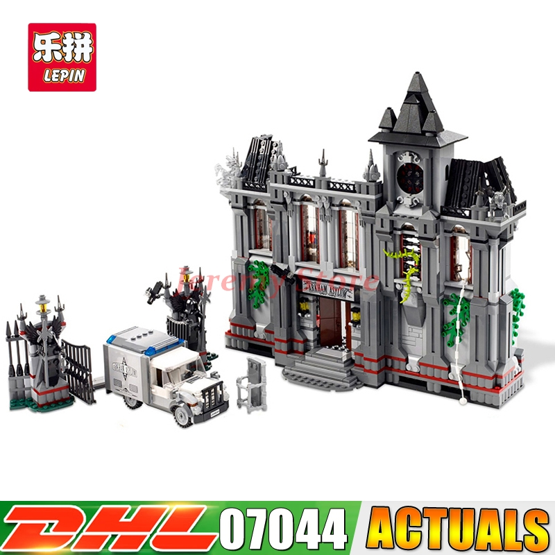 LEPIN 07044 Movie Hero Series Batman Arkham Asylum Breakout DIY Set Model Building Kits Blocks Brick Children Toy Christmas Gift fashion minnie t shirt long tutu skirt 2 pcs baby girls clothing children cartoon suits new summer clothes set free shipping