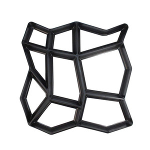 Image 2 - Black Plastic Making DIY Paving Mould Home Garden Floor Road Concrete Stepping Driveway Stone Path Mold Patio Maker