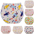 3 pcs/lot Baby Training Pants Child Cloth Study Pants Reusable Nappy Cover Washable Diapers Bird Style Free Shipping