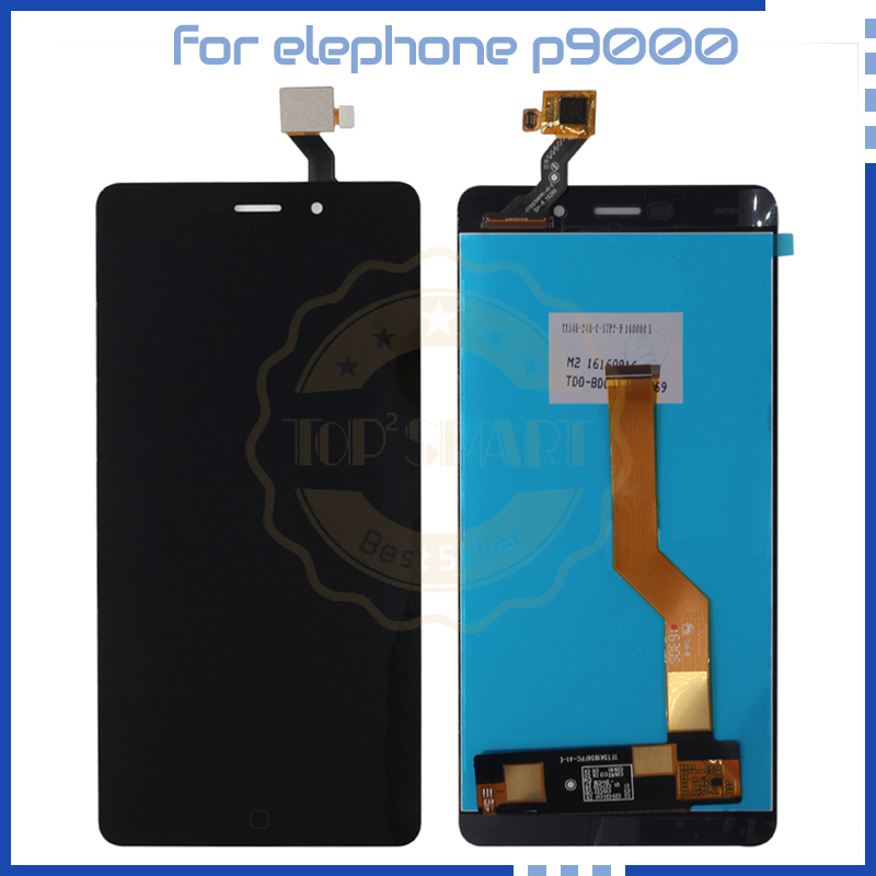 For Elephone P9000 P9000 lite LCD Display Touch Screen digitizer Original Quality for font b smartphone