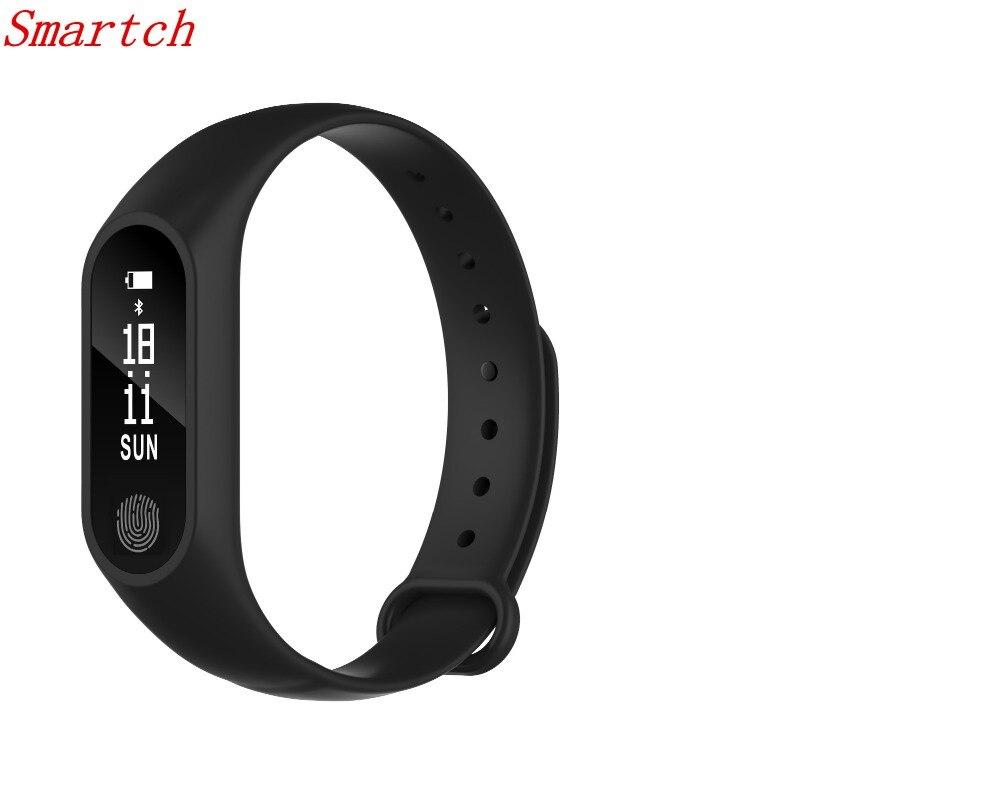 M2 Plus Waterproof Smart Wristband Bluetooth Watch Bracelet Heart Rate Monitor Anti-lost Reminder Smart Wrist band