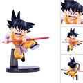 Frete Grátis Dragon Ball Z GOKU Son Goku Genki damaSpirit Bomba Versão Encaixotado PVC Action Figure Toy Model Collection # D