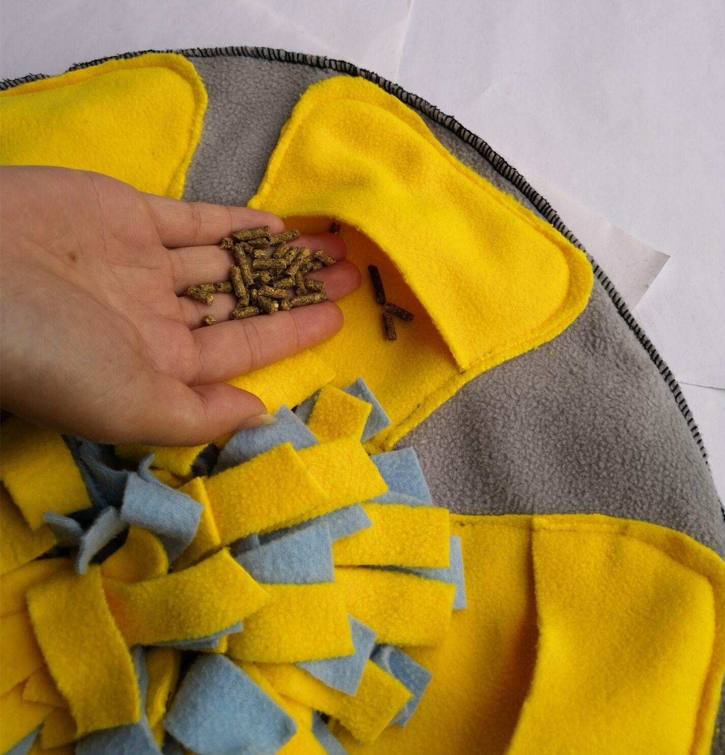 Pet sniffing pad pet dog training mat supplies
