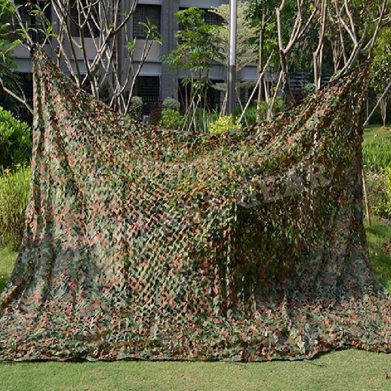 war game camping outdoor 6.5x9.8ft camo hunting Military Camouflage Net jungle camouflage 2x3m Woodlands Leavesh