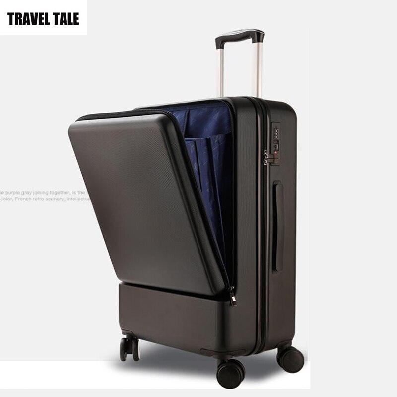 Gepäck & Taschen Gepäck Sets Reise Tale 20 24 28 zoll Laptop Koffer Tsa Spinner Trolley Gepäck Set Für Reisen