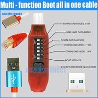 Alle Boot Kabel (EENVOUDIG SCHAKELEN) Micro USB RJ45 All in One Multifunctionele Boot Kabel edl kabel
