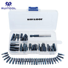 "29pcs Screwdriver Bits Set 1/4""(6.35mm) With Magnetic S2 Alloy Steel Precision Multitul With Tool Box For Ratchet Wrench(China)"