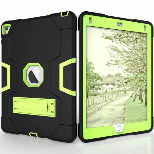 New Armor Case For iPad2 iPad3 iPad4 Kids Safe Heavy Duty Silicone Hard Cover For Ipad  4 3 2 iPad 3 2 Tablet Case