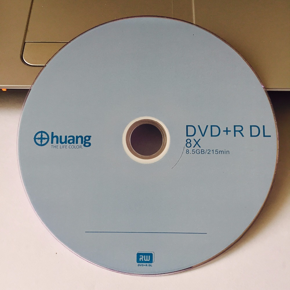 50 discs Less Than 0 3 Defect Rate 8 5 GB Huang Blank Printed DVD R
