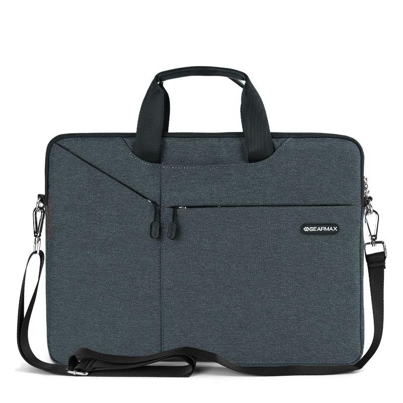 Prix pour Gearmax portable sac 11 12 13 14 15 nylon imperméable mallette pour ordinateur portable femmes hommes pour macbook pro 13 cas de mode ordinateur sac pour dell