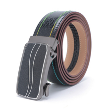 Luxury Brand Designs 100% Real Leather 2017 New Fashion  Mens Belts High Quality Genuine Leather Strap Size Adjustable For Man