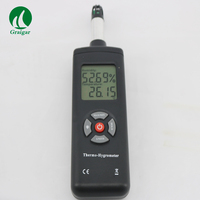 Portable humidity temperature industrial meter digital Thermo Hygrometer probe with large LCD TL 500
