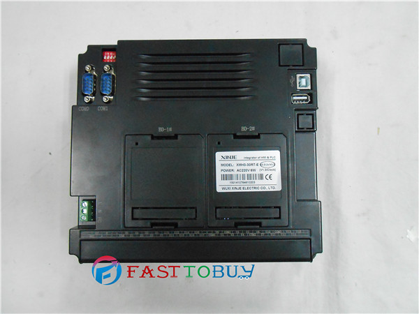 Integrated PLC XMH3-30RT-E Integrate Logic Control & Analog Input/Output & HMI in one unit New plc programmable logic controller module and 3 5 inch hmi learning plan hmi plc