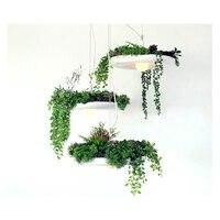 NEW! Dia.40CM Modern Style Flower Pot Plant Aluminum Pendant Lamp Secret Garden Creative Decoration Light