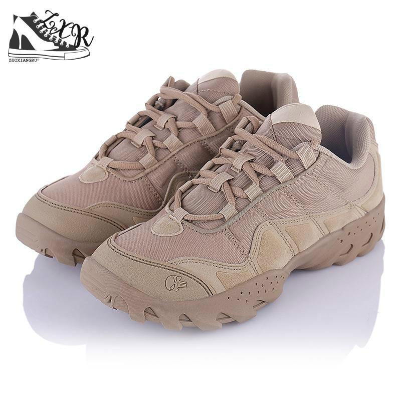 New Brand Military Tactical Combat Outdoor Sport Army Shoes Men Boots - Men's Shoes