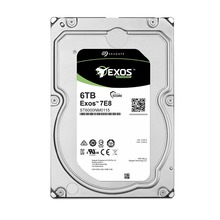 Seagate Exos 7E8 6TB 512e SATA 256MB Cache 3.5-Inch Enterprise Hard Drive ST6000NM0115