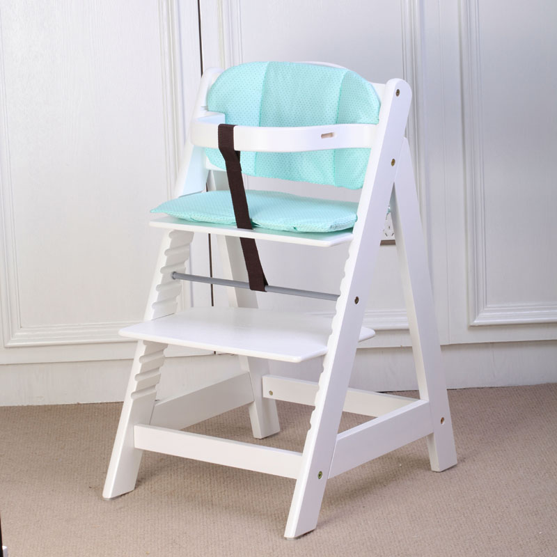 Baby Child Dining Chair Solid Wood White Multifunctional Child Dining Chair Adjustable 150 Bearing multifunctional baby child solid wood dining chair baby dining chair solid wood baby chair